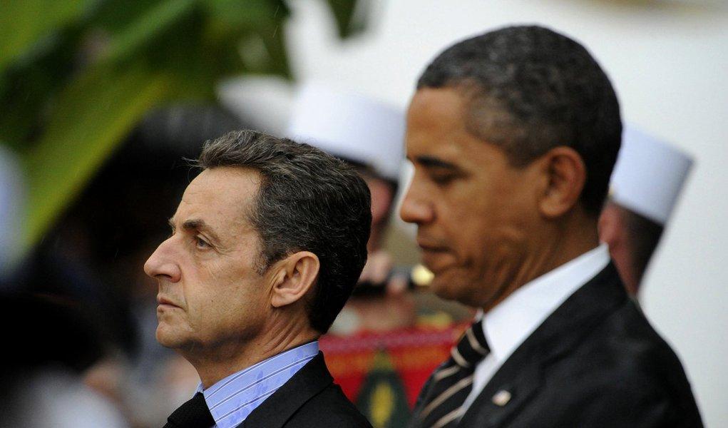 Num microfone aberto, Obama critica Sarkozy e o Estado Palestino