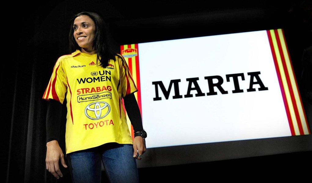 Marta é confirmada no Tyresö, da Suécia