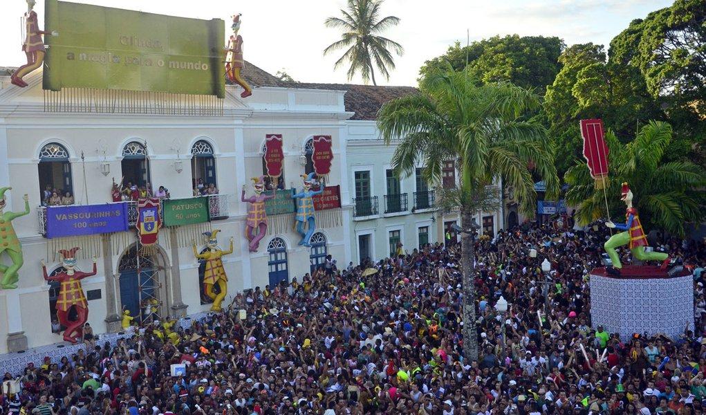 Olinda: Carnaval com 2,1 milhões de foliões e receita de R$ 60 milhões