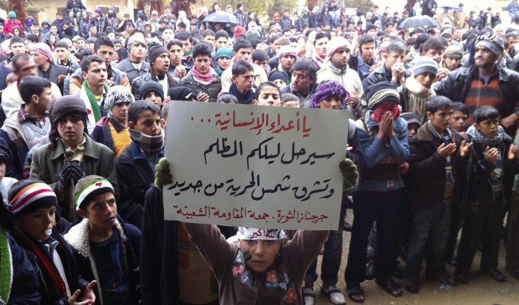 Confrontos na Síria causaram 7.600 mortes, diz ONG