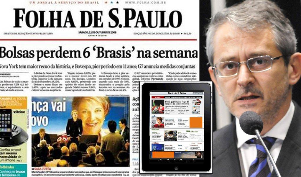 Folha publica editorial equilibrado sobre o mensalão