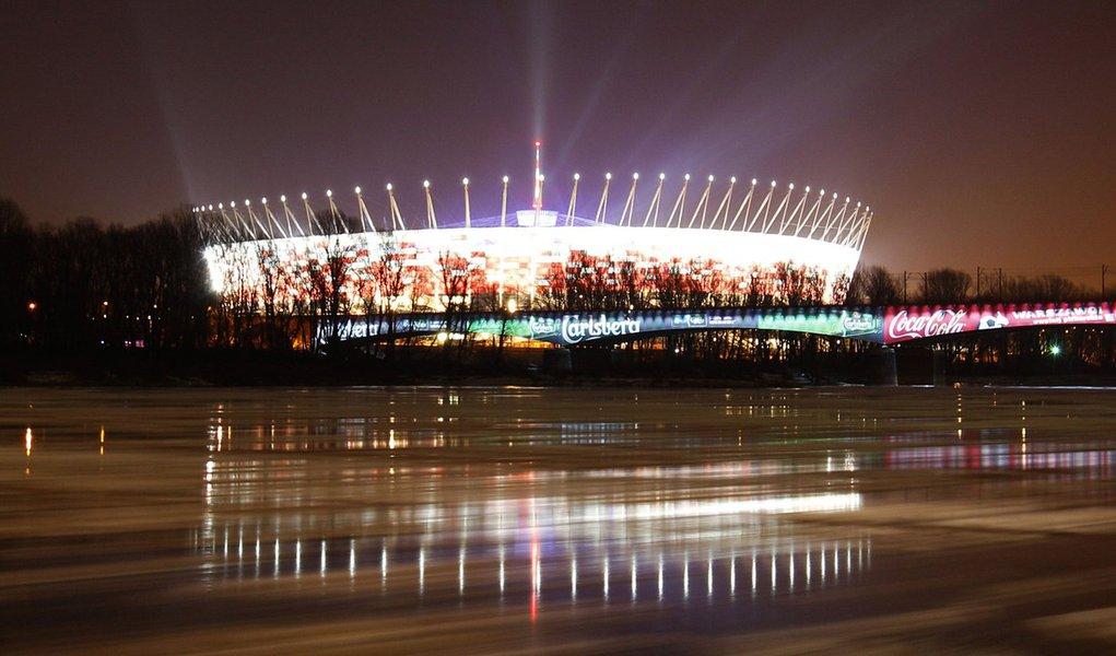 Estádio da abertura da Eurocopa está pronto para 1º jogo