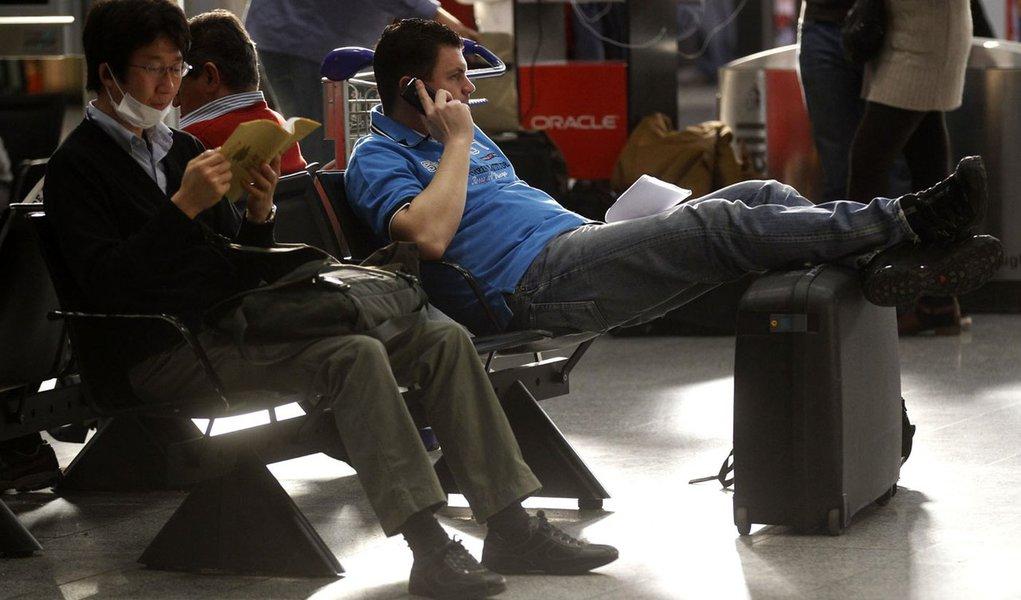 Caos em aeroporto alemão atrapalha europeus
