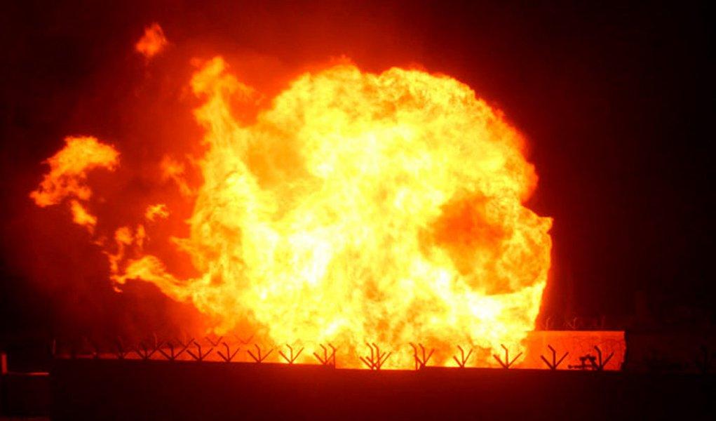 Gasoduto egípcio sofre duas explosões