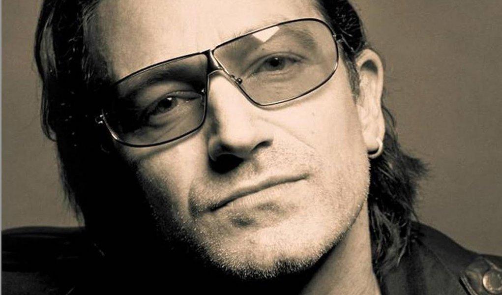 Bono Vox deseja melhoras a Lula