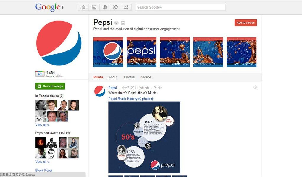 Google + peita Facebook e abre espaço para empresas