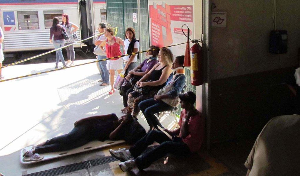 Falha humana pode ter provocado colisão de trens