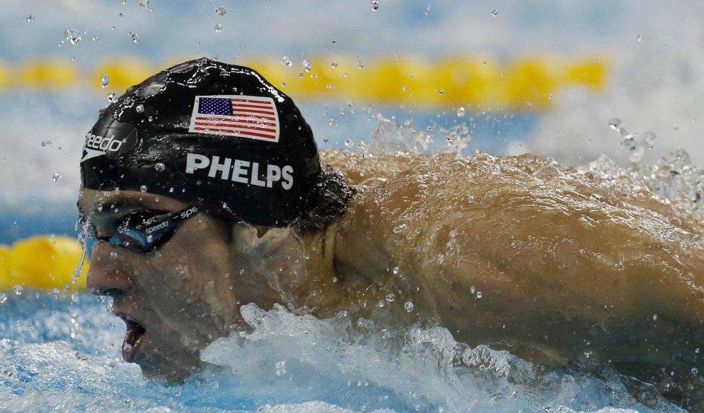 O último desafio de Michael Phelps