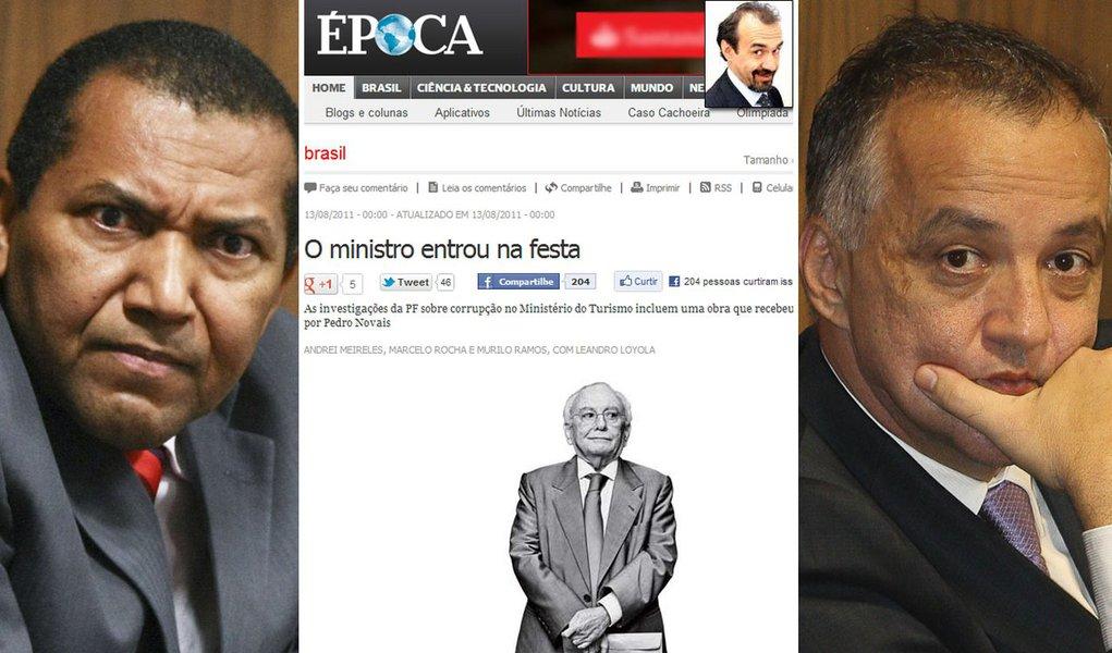 Assim como Veja, Época blinda diretor em Brasília