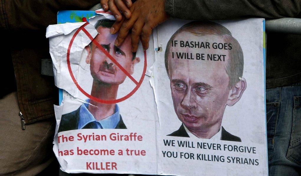 """Síria diz que pedido da Liga Árabe por missão de paz é """"histeria"""""""