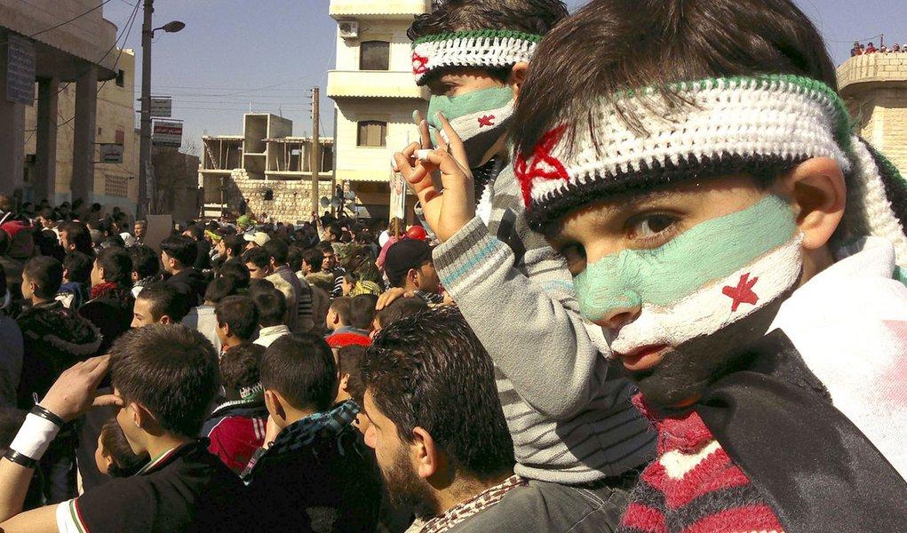 Ao menos 400 crianças já morreram na Síria, diz Unicef