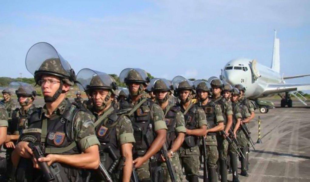 PF chega a Bahia para prender grevistas