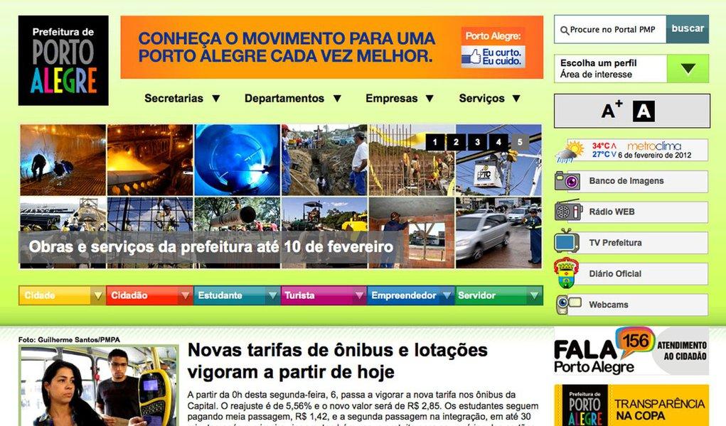Hackers derrubam site da Prefeitura de Porto Alegre