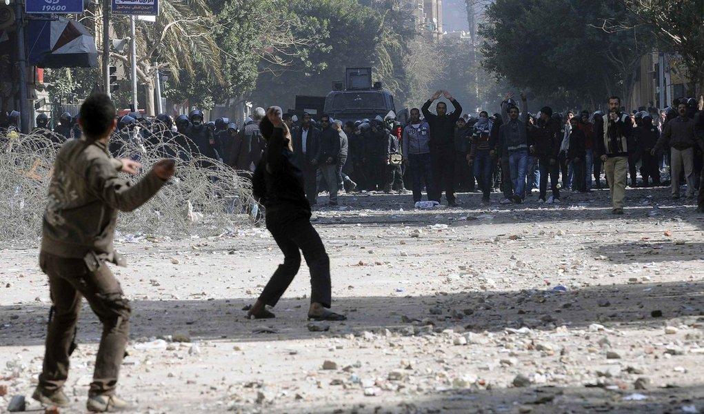 Nova onda de protestos no Egito