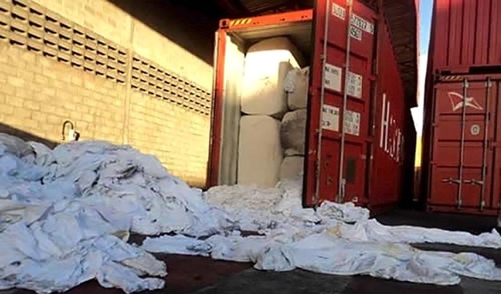 Devolução de lixo hospitalar é adiada