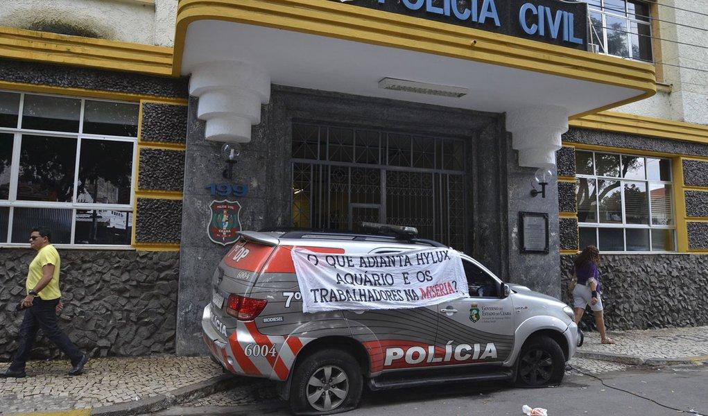 Uma polícia prende, a outra solta no Ceará