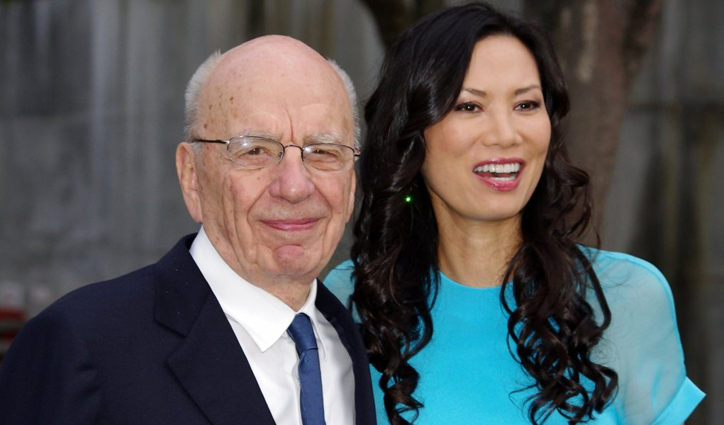 Twitter identifica falsa conta de esposa de Murdoch