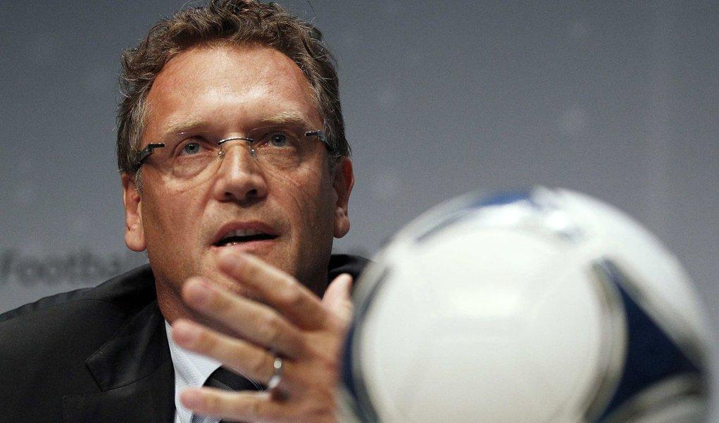 Valcke visitará estádios de Cuiabá e Manaus em agosto