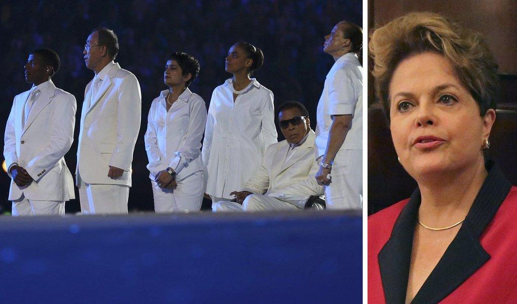 Marina rouba a cena em Londres e incomoda Dilma