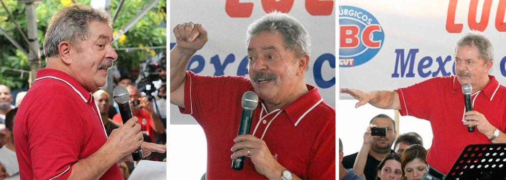 No berço do ABC, Lula confirma: candidatíssimo