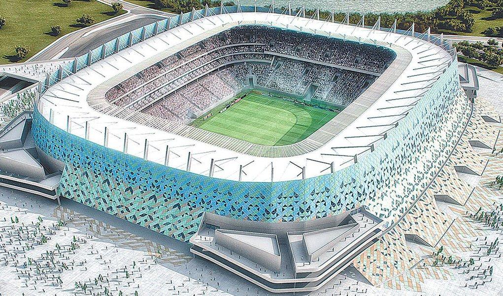 Usina solar da Arena Pernambuco começará a funcionar em 2013