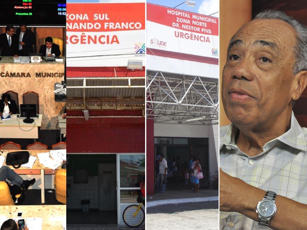 """João """"privatiza"""" Saúde: projeto de OSs é aprovado"""