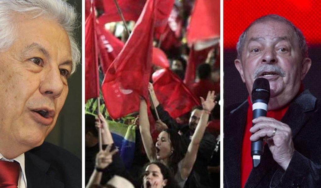 Chinaglia já fala em Lula 2014 a deputados