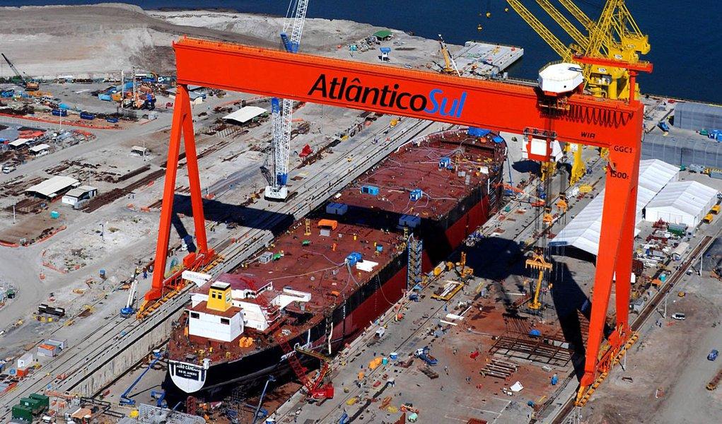 EAS retoma produção de navios da Transpetro