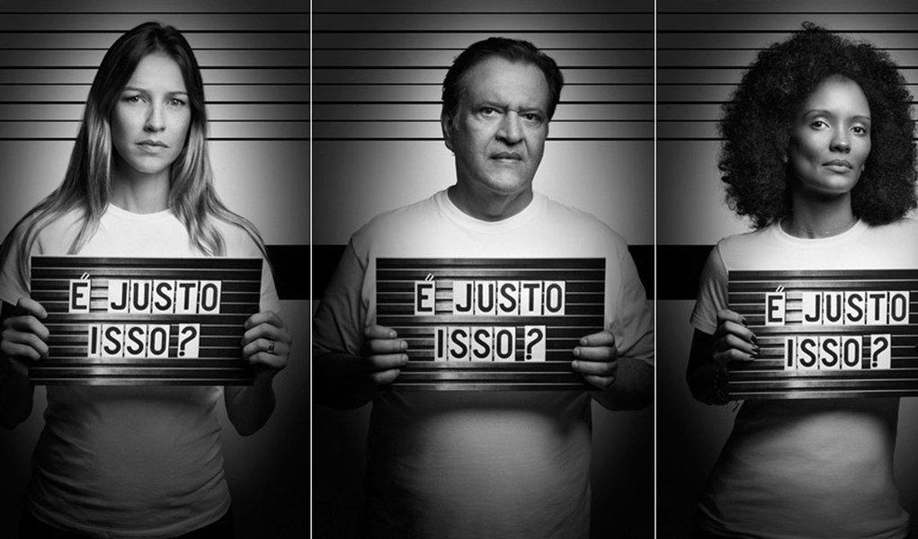 Campanha com famosos quer mudar lei das drogas no País