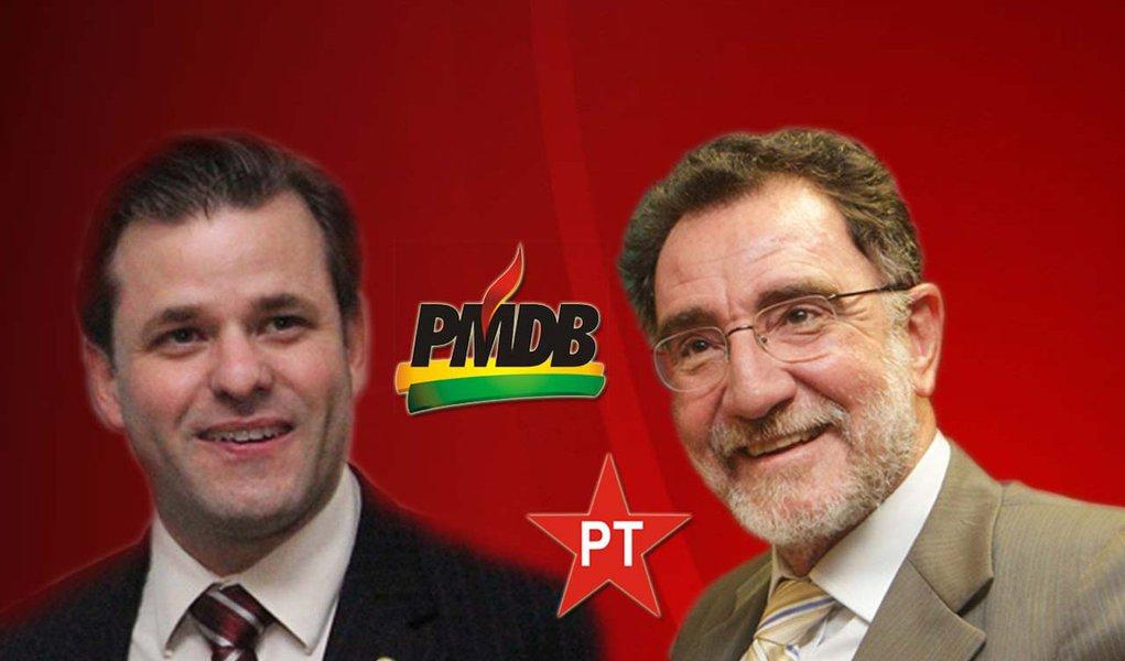 PMDB quer Quintão de vice de Patrus. Ele resiste