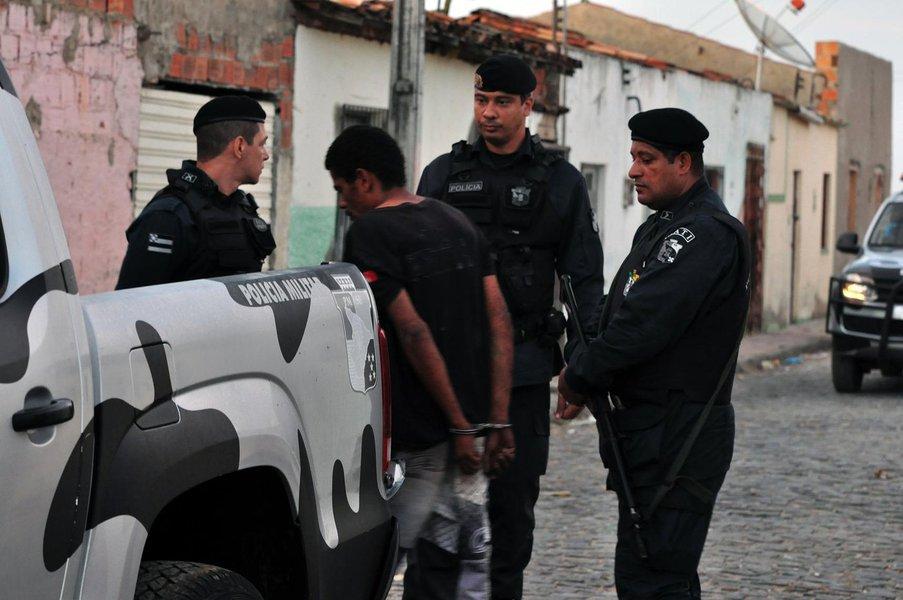 SSP atua para prender 200 por crimes de homicídio, tráfico e roubo