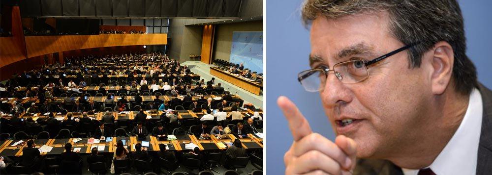 """Financial: Azevêdo """"não parece promissor"""" na OMC"""