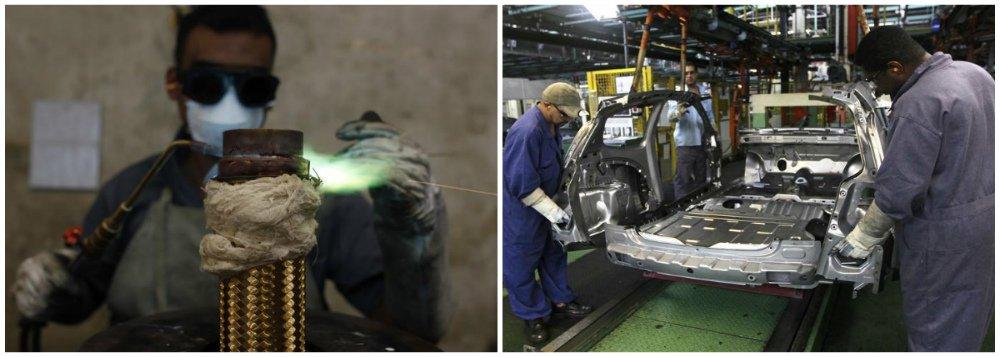 Faturamento da indústria cresce 3,6% em março