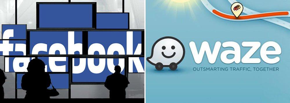 Facebook negocia compra da Waze por até US$1 bi