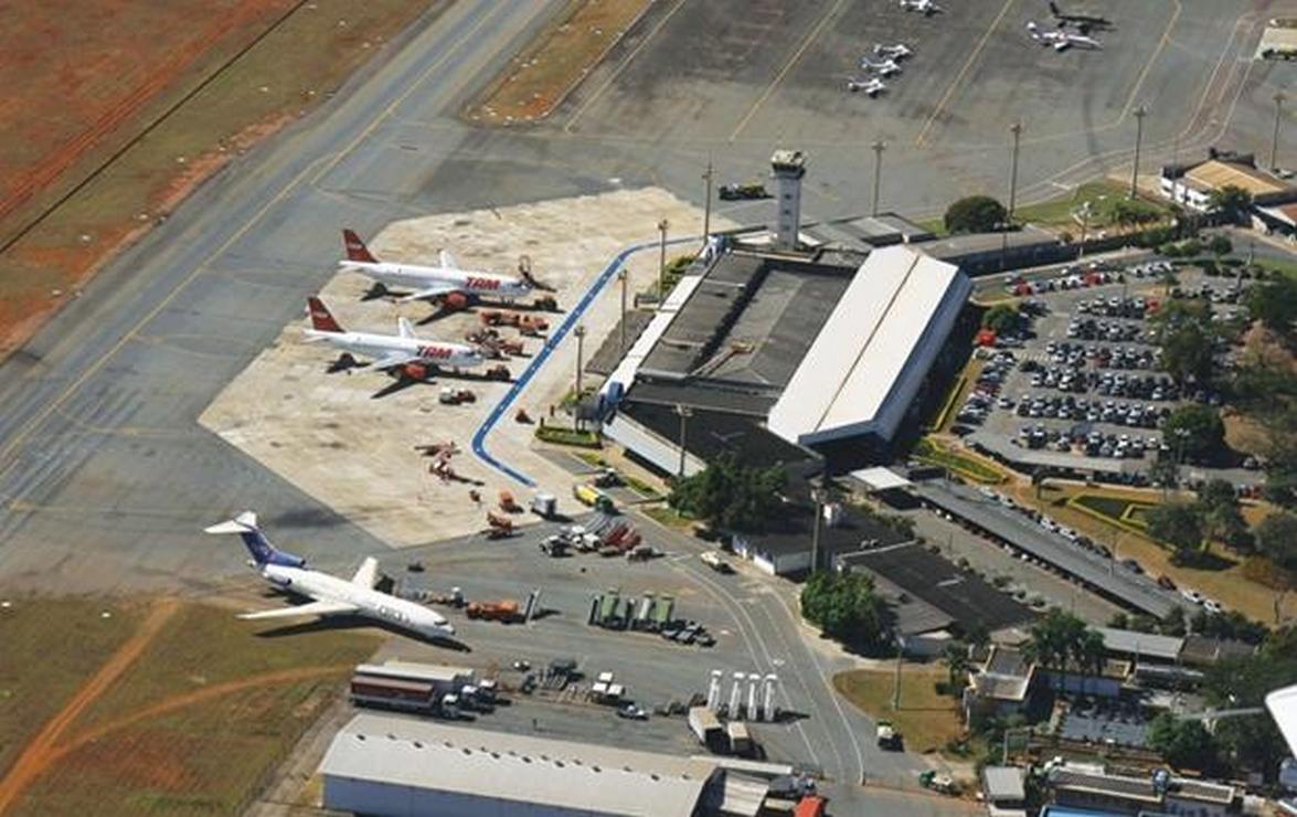Aeroporto retomará voos à noite no dia 9 de junho