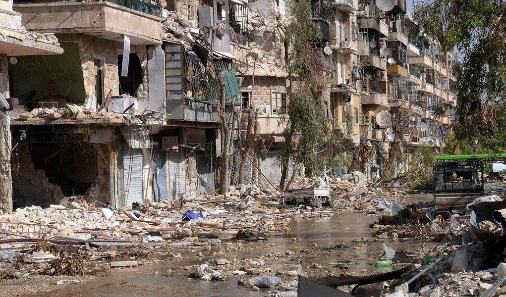 Síria é cortada da Internet mundial