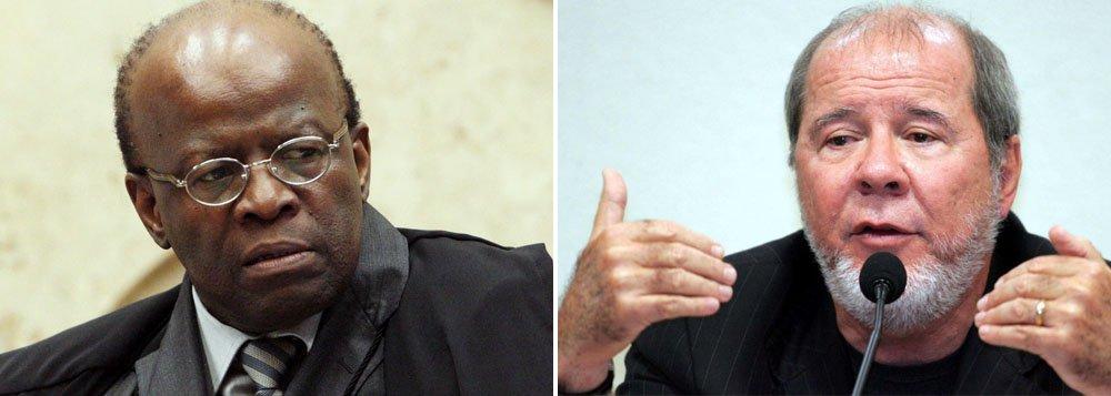 Barbosa se contradiz sobre embargos de declaração