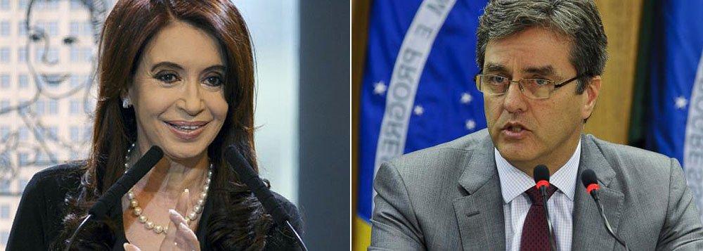 """Argentina recebe com """"grande satisfação"""" brasileiro no comando da OMC"""