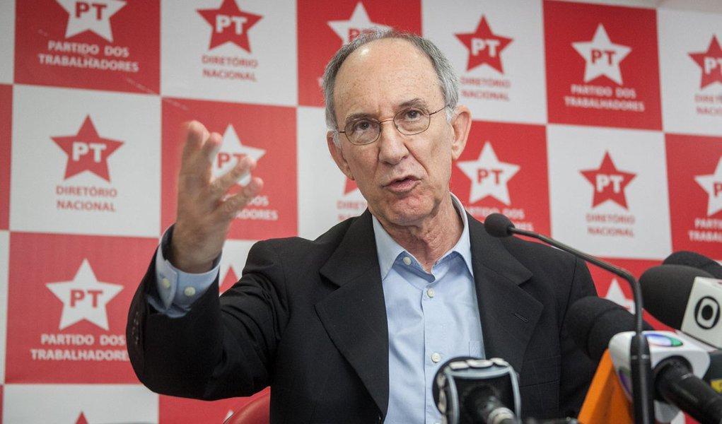 """Rui Falcão: """"caiu farsa da formação de quadrilha"""""""