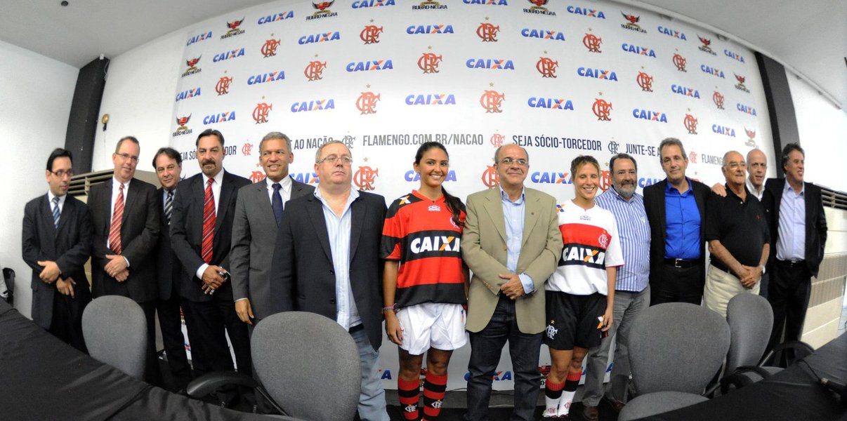 Flamengo anuncia acordo de patrocínio com a Caixa