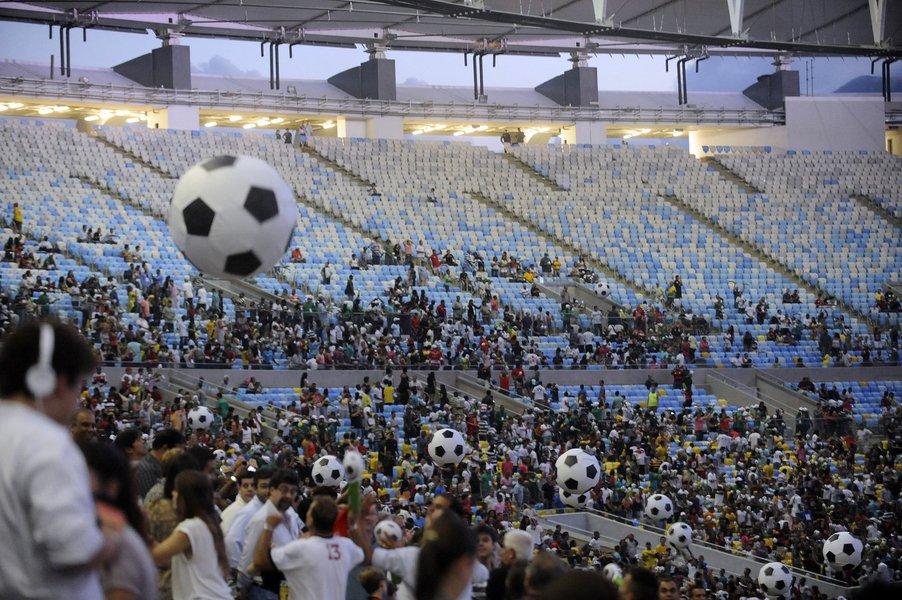 Governo do Rio cancela evento-teste no Maracanã
