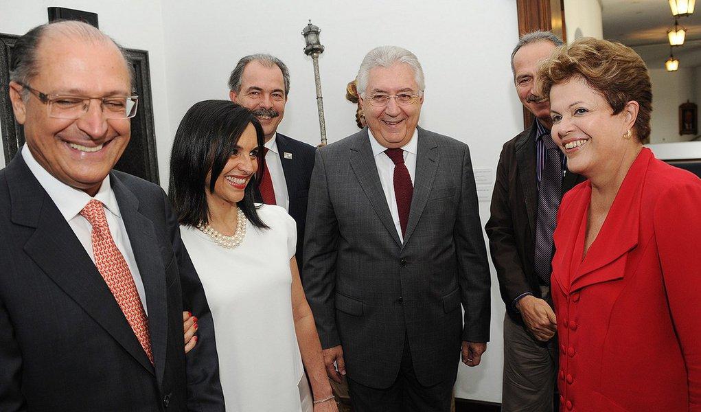 Alckmin parabeniza Dilma por ter escolhido Afif
