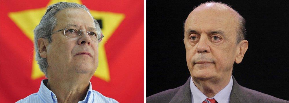 Dirceu inclui Serra entre candidatos à Presidência