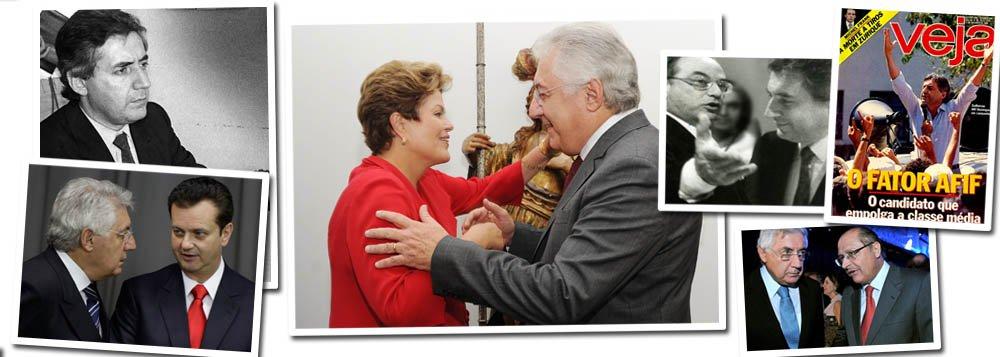 Afif, camaleão da política, fecha reforma de Dilma