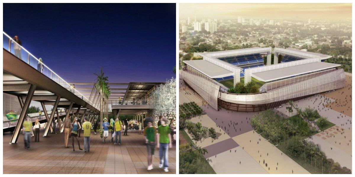 Pós Copa: Arena Pantanal pode virar área de lazer