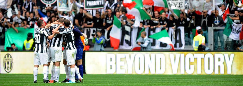 Vitória sobre Palermo vale bicampeonato à Juventus