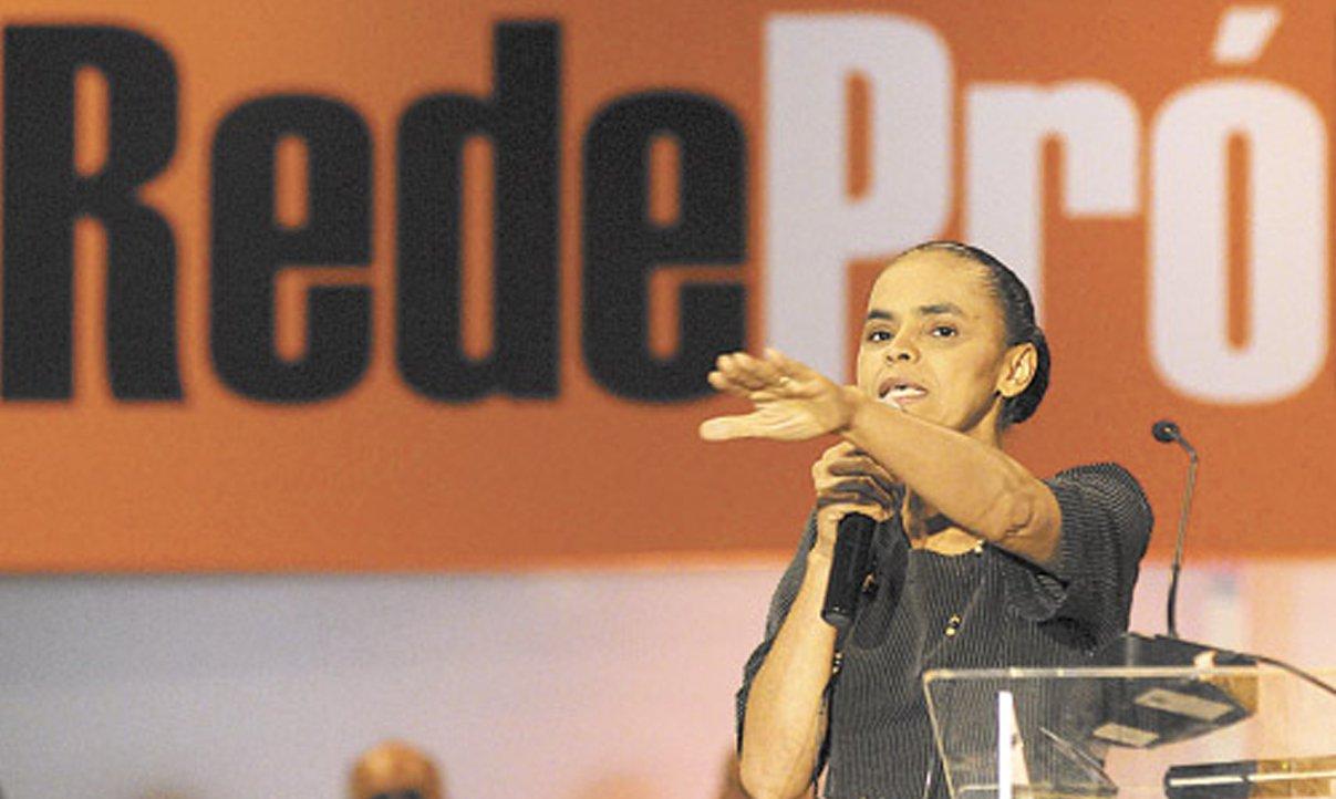 Marina faz peregrinação pró-Rede em Salvador
