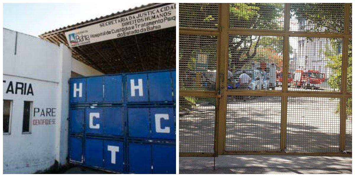 Justiça interdita Hospital de Custódia de Salvador