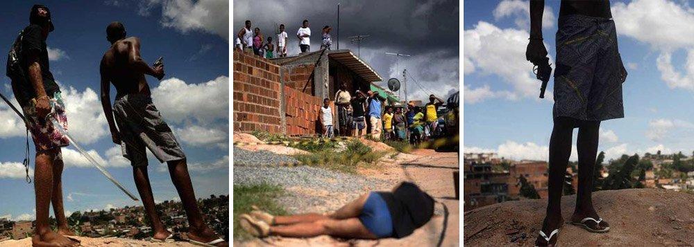 Violência em Salvador é destaque internacional