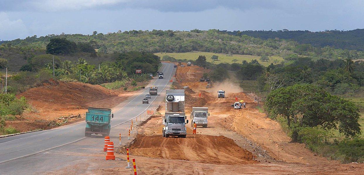 Duplicação da BR 101 em Sergipe deve ser concluída em 2014
